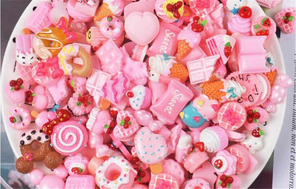 1pcs 무작위로 배송 로리타 귀여운 머리핀 케이크 디저트 도넛 파티 의상 머리 장식 헤어 클립 선물 B944