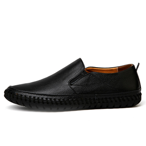 Image 2 - 가을 캐주얼 슬립 남성 가죽 신발 Mocassin Homme Moccasins Trend 2020 여름 운전 플러스 사이즈 49 50