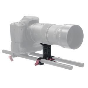 Image 5 - سبائك الألومنيوم 15 مللي متر المقربة عدسة دعم قوس حامل كاميرا حامل محول تمديد أنبوب كليب SLR DSLR تلاعب قضيب نظام Clmap