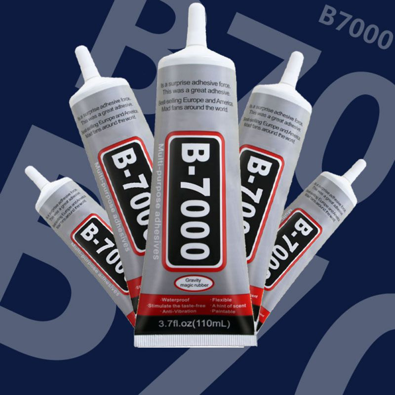 10ml B7000 Mobile Phone Tactile Display Glue B-7000 Glass Phone Repair Point Diamond Jewelry Glue