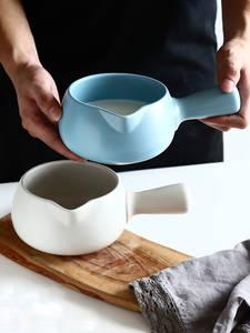 Mini Casserole Cookware Soup-Pot Ceramic Porridge Japanese Stockpot 700ML 9-Colors Food-Supplement