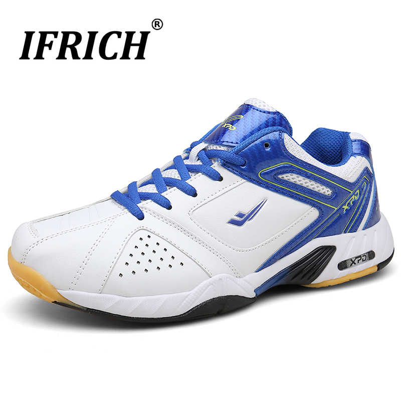 Nouveauté hommes chaussures de Badminton anti-dérapant hommes chaussure de Tennis portable hommes chaussures de Sport confortable grand garçon chaussures de Tennis de Table