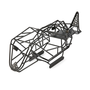 Black Metal Roll Cage Chassis Frame for Axial Wraith 90018 AX90018 1/10 Scale RC Car Rigid Chassis with Perfect Design RC Part