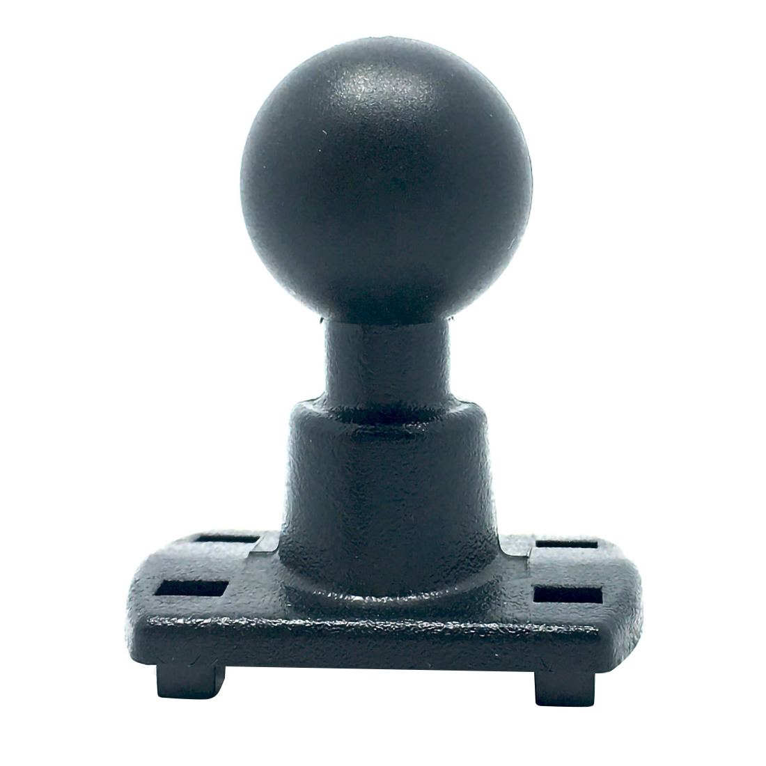 4 Hole Claws AMPS Adaptor Plate With 1 Inch ( 25mm ) Rubber Ball Compatible For Ram Mounts For Cameras For Garmin GPS DVR