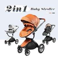 Bioby 2 in 1 Trolley Multifunctional Baby Foldable Stroller Pram Kids Child Travel Pushchair Folding Hot Newborn