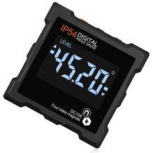 360 graus mini digital transferidor inclinômetro eletrônico caixa de nível quatro lados forte magnético base ângulo medidor medição