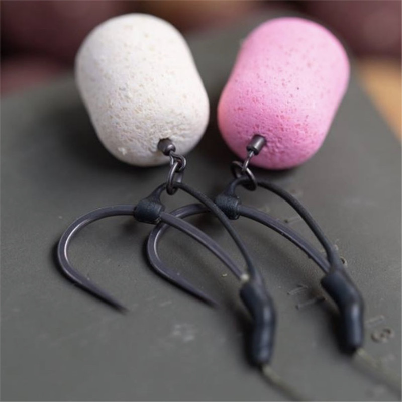 10pcs Carp Fishing Accessories D Rig Kickers Hooks Line Aligners Sleeve Anti Tangle Sleeve For Hair Ronnie Rigs End Tackle