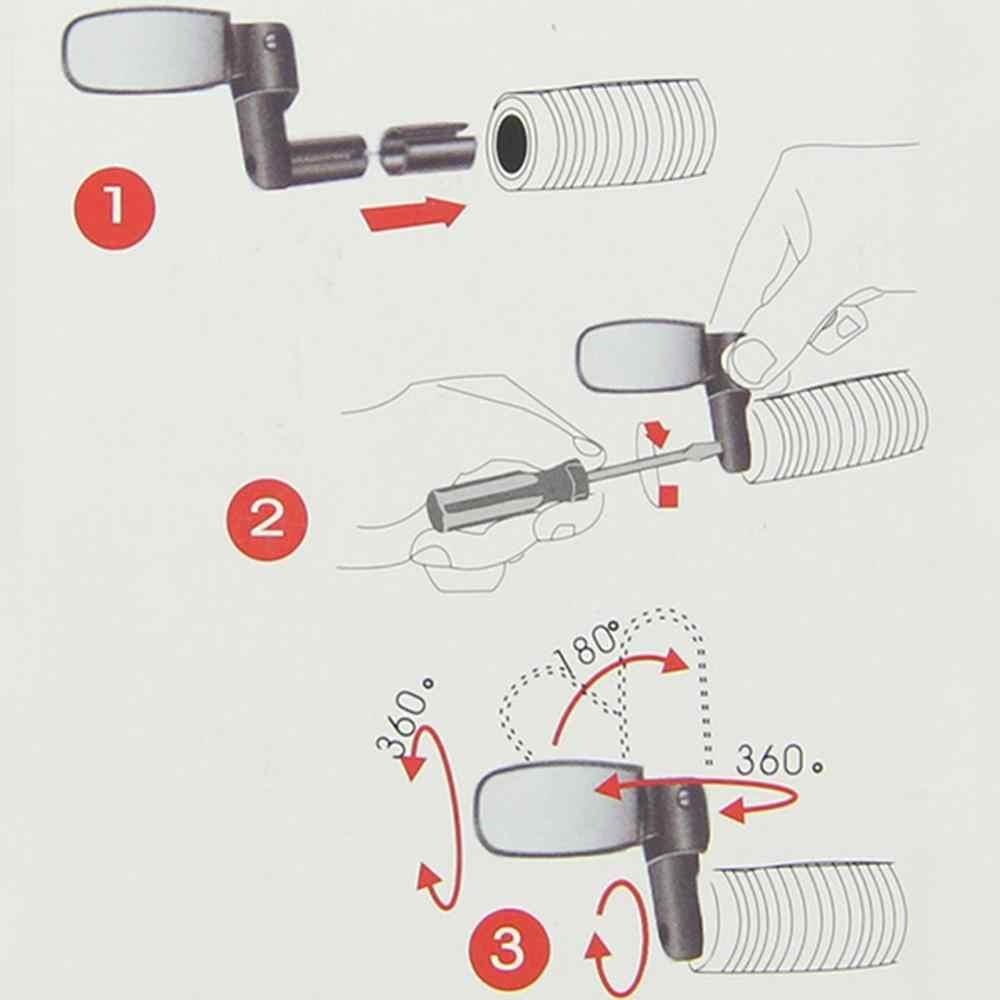 360 rotation universel vélo guidon grand Angle rétroviseur Flexible réglable vélo accessoires vélo miroirs offre spéciale
