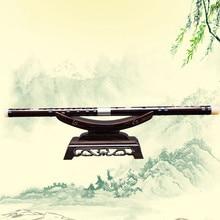 SevenAngel – flûte à jouer professionnelle, vieux acajou flauta instrument de musique national en bois de rose Dizi avec accessoires