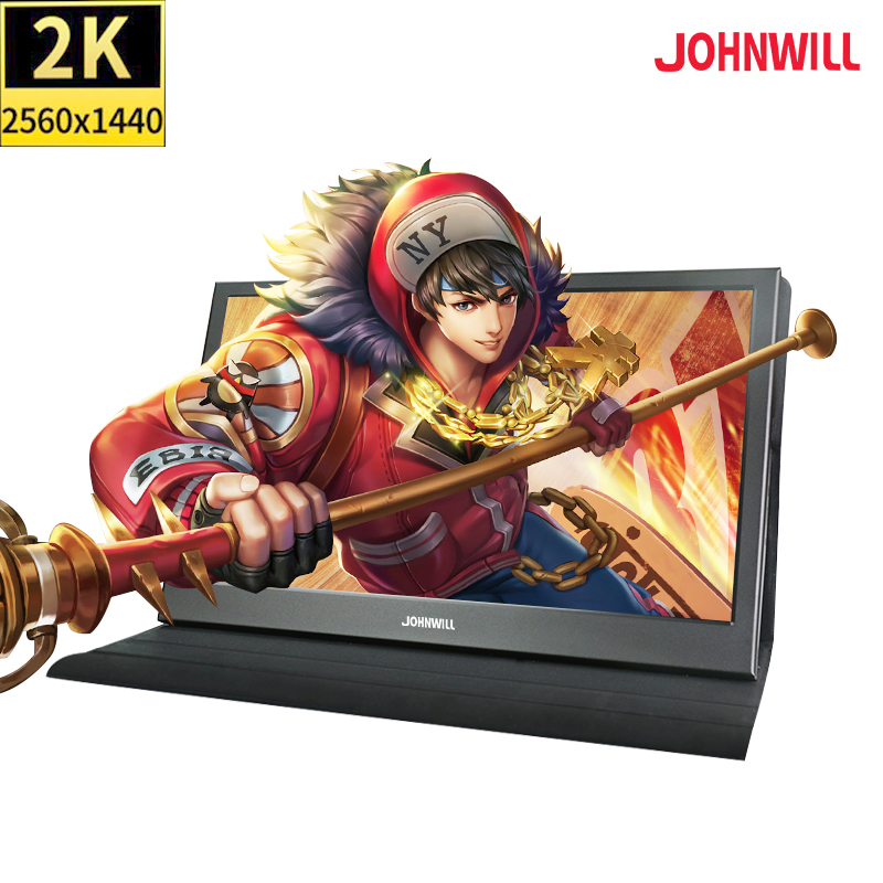 13.3 inch 2K touch screen Portable Computer gaming Monitor PC HDMI PS3 PS4 Xbo x360 IPS LCD Display Monitor for Raspberry Pi image