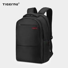 Tigernu z zabezpieczeniem przeciw kradzieży 20L o dużej pojemności 15.6 cala plecaki uniwersyteckie mężczyźni czarny plecak kobiet kobiet Mochila Laptop Bag15.6 17 cali