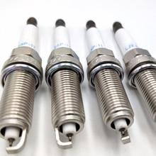 Bujías LZKAR6AP 11 22401 CK81B para NISSAN X TRAIL, QASHQAI, NV200, NOTE 22401CK81B, LZKAR6AP11, LZKAR6AP 11, 4 unidades