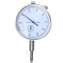 Стрелочный Индикатор 0-10 мм/0,01 мм Высокоточный циферблат микрометр точный концентричность измерительный инструмент инструменты