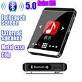 Оригинальный спортивный MP3-плеер RUIZU M5 с Bluetooth, 16 ГБ, 8 ГБ, мини-сенсорный экран с клипсой, поддержка FM, запись, электронная книга, часы, шагомер