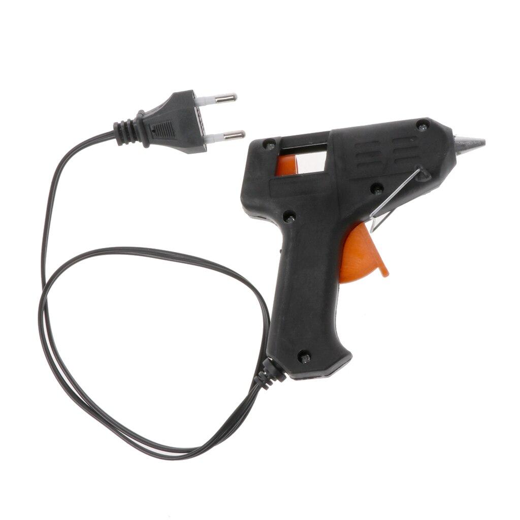 Heating Hot Melt Glue Gun Sticks Trigger Art Repair Tool US/EU Plug 20W Electric Drop Ship Support