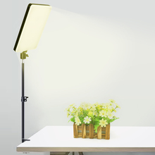 LED Panel Light Dimmable Video Lamp With Stretchable Desktop Bracket Stand For Youtube Live Photography Lighting Fill Lights Kit