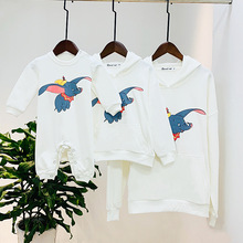 Dumbo Hoodie Family Matching Mommy Dad Me Clothes Mother Fat