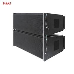 Doblbele 12 pulgadas twee manier Professionele audio podio line array luidsprekersymeem actieve luidspeker