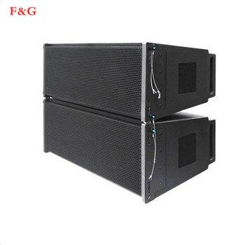 Dubbele 12 дюймов twee manier профессиональный аудио Подиум линия массив luidsprekersysteem actieve luidspreker