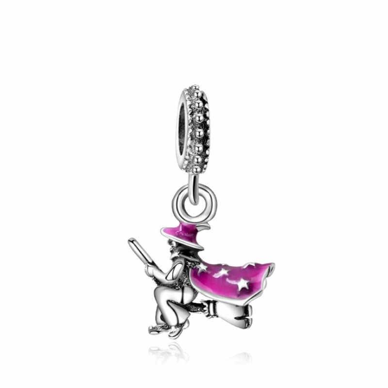 Corona/Chile/Estrella/cerradura/abeja/Torre colgante DIY dijes cuentas ajuste Pandoraa regalo para pulsera y collares joyería haciendo regalos de mujeres