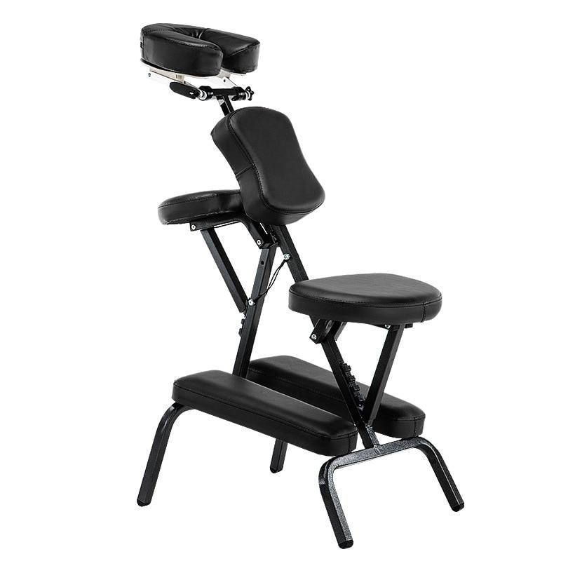 Salon Chair Folding Adjustable Tattoo Scraping Chair Folding Massage Portable Tattoo Folding Beauty Bed Salon