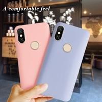 Di Colore della caramella Del Telefono Custodie Per Xiaomi Redmi S2 Copertura Redmi S 2 Molle della Cassa Del Silicone Fundas Per Redmi S2 5.99 pollici Coque Capa della copertura posteriore