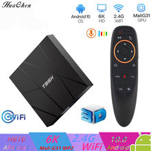 2020 Smart Android 10,0 TV Box H616 Quadcore Cortex-A53 2,4G / 5G wifi 4GB 32GB64GB 6K HDMI 2.0 Set Top Box