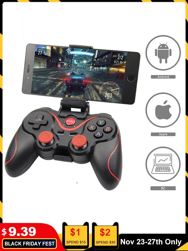 Gamepad Joystick Game-Controller Tv-Box-Holder Tablet Mobile-Phone Terios T3x3 Bluetooth