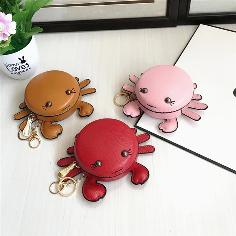 Daimu Bird Bag Women's Cartoon Cute Little Crab Purse WOMEN'S Bag Pendant Coins Key Bag