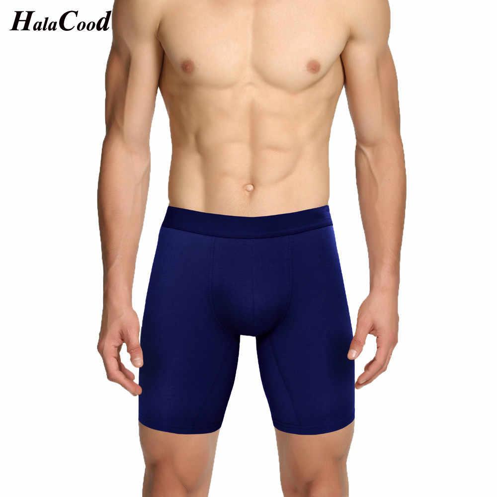 Sıcak yeni kalite moda seksi marka erkek artı uzun baksır şort erkek pamuk iç çamaşırı erkek külot Mr büyük boy külot şişman 6X
