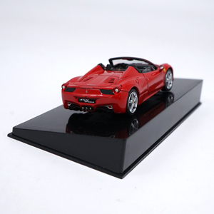 Image 4 - 1:43 High Meticulous Roadster 458 SPIDER Alloy Model Car Static Metal Model Vehicles