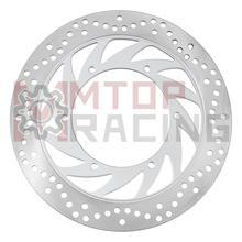 Disco de freio dianteiro para yamaha xvs 400 (1996) xvs650 drag star (1997 2004) xvs650a dragstar classic (1998 2007 99 2000) rotor de freio