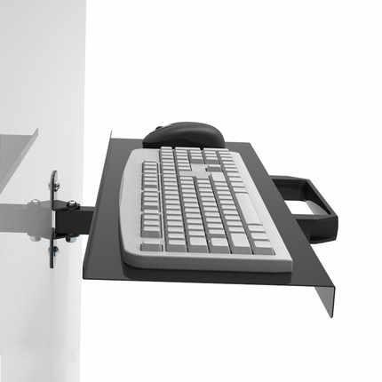الجديدة القادمة رف لوحة المفاتيح للطاولة جدار جبل طوي رف لوحة المفاتيح للطاولة حامل حجم 65*21 سنتيمتر جدار جبل رف لوحة المفاتيح للطاولة