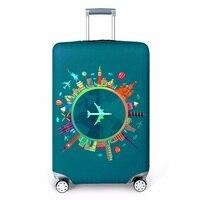 Nova capa de bagagem elástica capas de proteção de bagagem para 18-32 Polegada trolley caso mala caso capa protetora acessórios de viagem