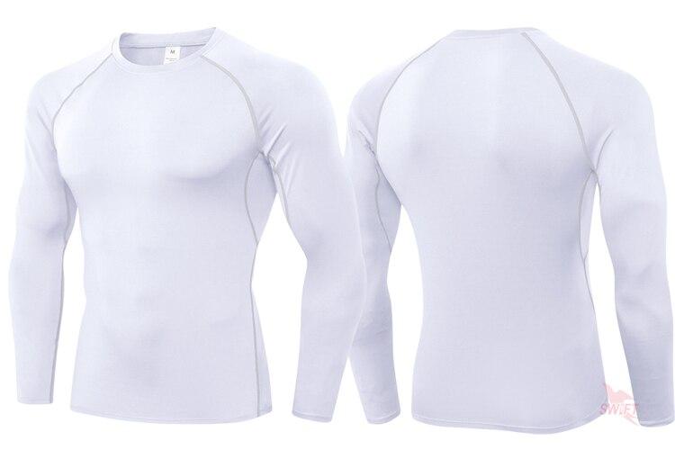 Personalize as camisas de compressão de impressão