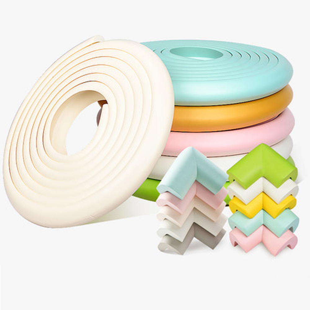 5M Baby Safety Protection Corner Kids Table Desk Furniture Corner Protection Soft Children Crash Protector Angle Protection Tape
