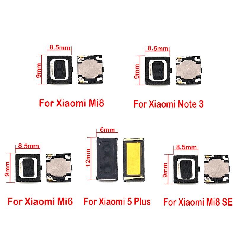 2pcs Earpiece Ear Sound Top Speaker Receiver For Xiaomi Mi 9 9se 8 8se Lite 5 5S 6 A1 5X A2 6X Pocophone F1 Max Mix 2 Note 3