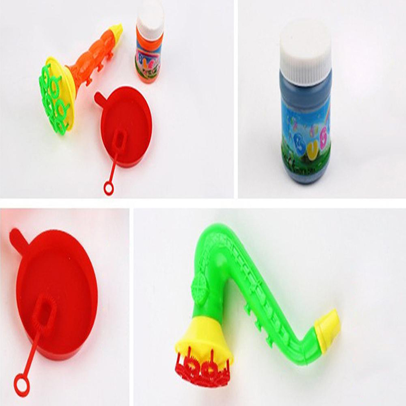 Toys For Children 1PCS Random Water Blowing Toys Bubble Soap Bubble Blower Outdoor Kids Child Toys
