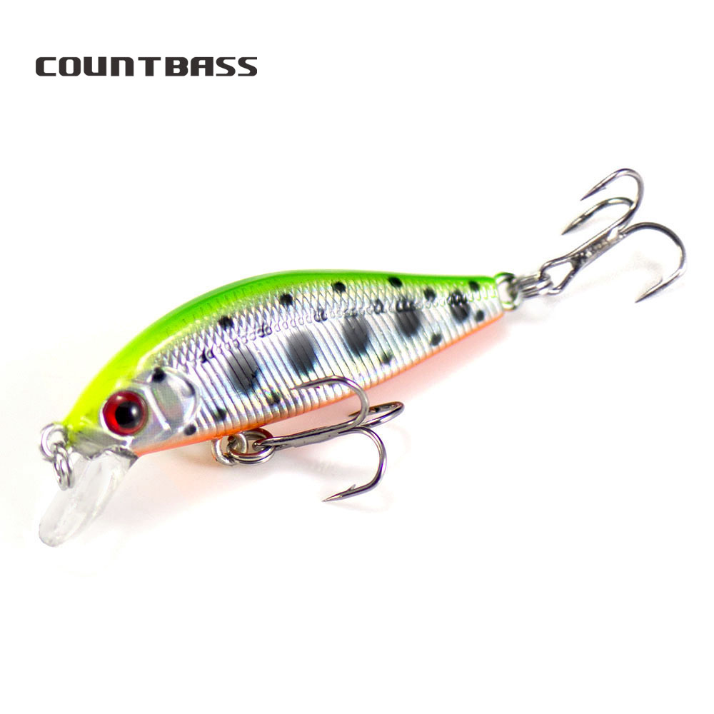Countbass 45mm 3.1g Hard Lures Fishing Baits, Sinking Minnow,  Wobblers, Plug, Freshwater Fish Lure sinking minnow freshwater fishing lurefishing lure - AliExpress