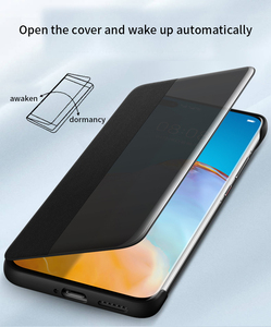 Image 3 - Original Huawei HUAWEI P40/P40 Pro/P40 Pro+ P40 Pro Plus Smart View Cover Leather Protection Auto Sleep Wake Flip case