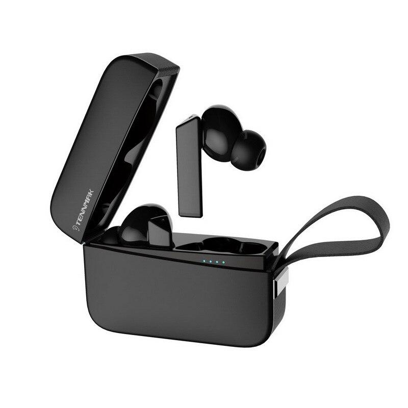 TENNMAK True Беспроводной Bluetooth Игровые наушники с 60 г-жа низкой задержкой IPX4 Водонепроницаемый и быстрый способ подключения и сенсорное управле...