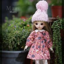 Lcc marie 1/6 bjd sd meninas boneca terno fullset oueneifs yosd littlefee resina brinquedos olhos livres