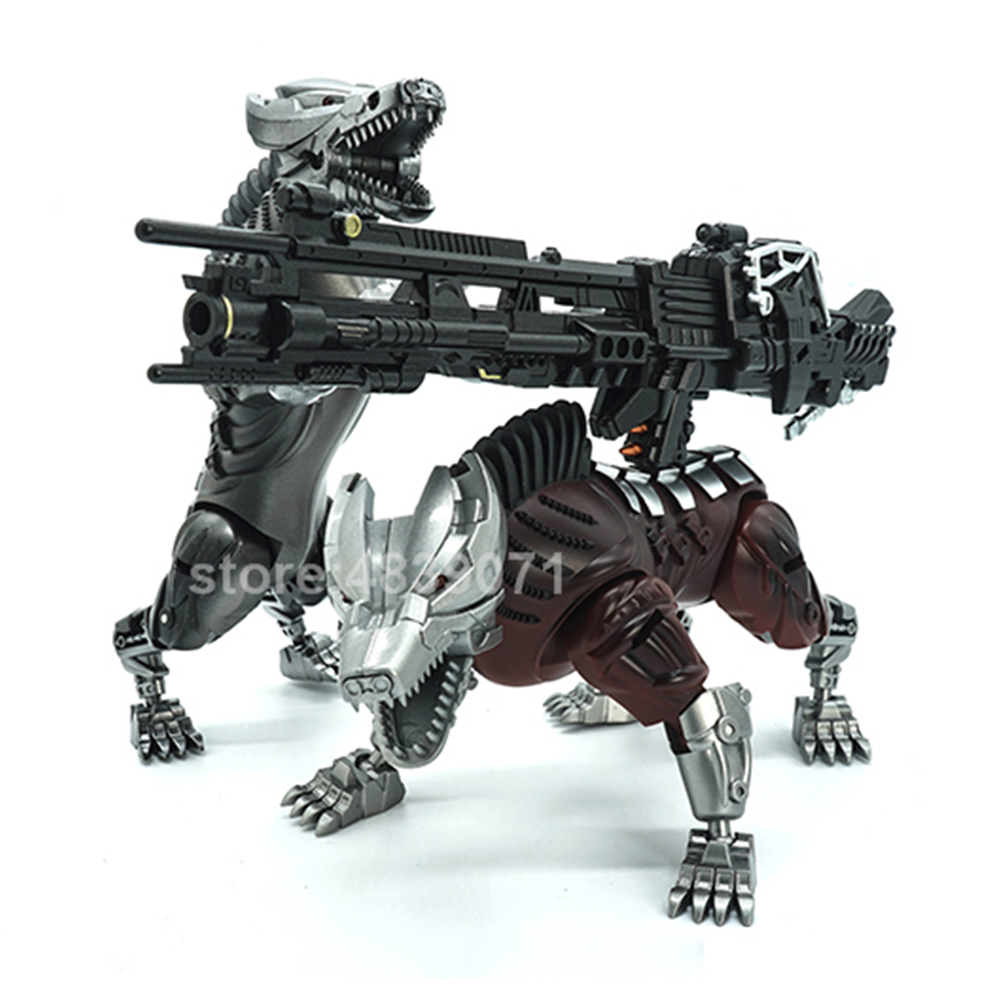 Image 4 - VT Action Figure Toys VT 01 VT01 Metal MP Bounty Hunter UT Confinement Two Hunting Dogs Sports Car Deformation TransformationAction & Toy Figures   -