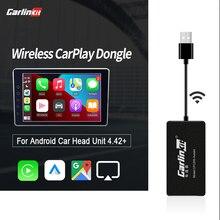 Carlinkit Carplay беспроводной смарт-ключ Apple CarPlay для Android-навигатора, мини USB Carplay с Android авто