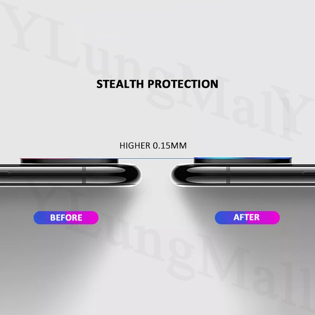 iPhone 11 Pro Max Back Camera Lens Screen Protector Tempered Glass Guard Film