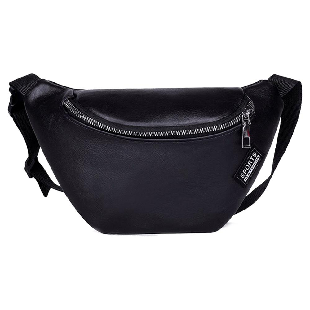 Women Bag  2020 Waist Pack Fashion PU Leather Fanny Pack For Women Belt Waist Bag Casual Women Waist Pack Shoulder Crossbody Bag