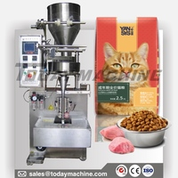 Chicken Whole Cat Food Adult Cat Pet Kitty All Stage Cat Staple 0.5 lb bag pouch filling sealing and packing machine