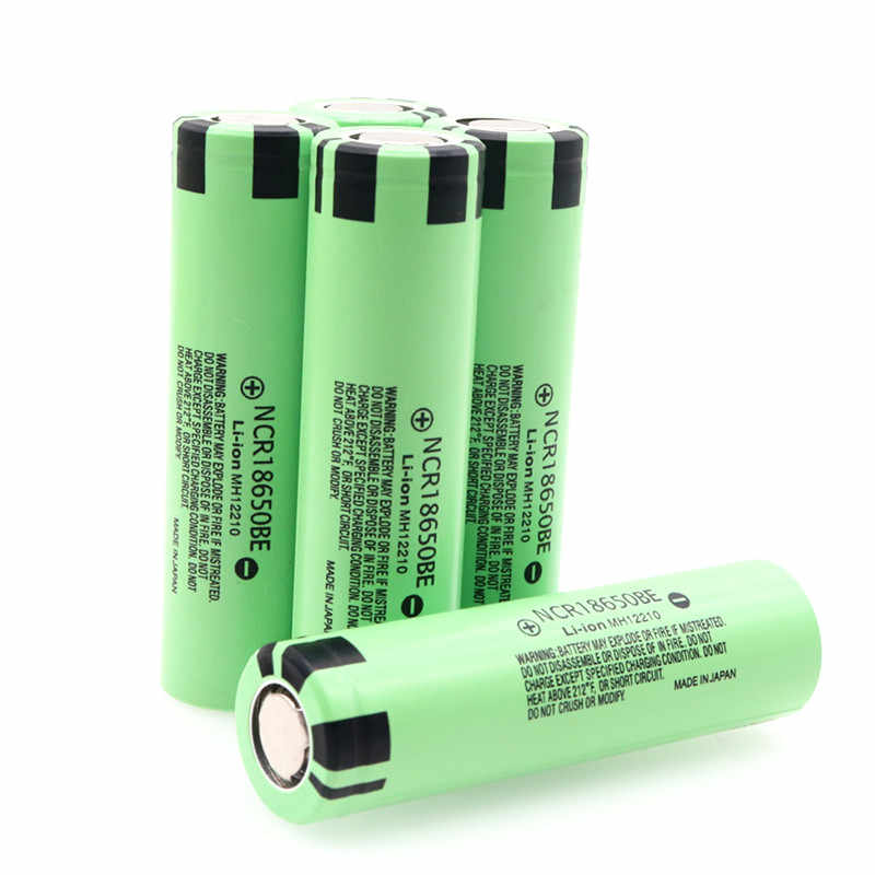 New 100% Original 18650 Battery NCR18650BE 3.7V 3200 mah 18650 Lithium Rechargeable Battery For Flashlight batteries