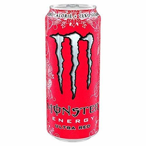 Monster Energy Ultra Red