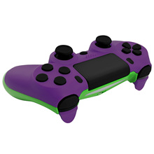 Bevigac 교체 컨트롤러 케이스 하우징 쉘 커버 + 소니 플레이 스테이션 PS 4 PS4 슬림 JDM 040 컨트롤러 용 전체 버튼 키트